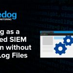 Bluedog as a Managed SIEM Solution without Using Log Files