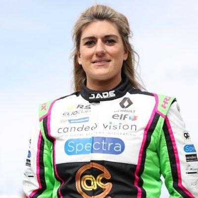 Racing driver Jade Edwards